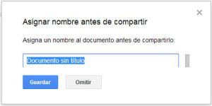 Compartir Documento Google Drive
