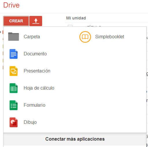 Crear Documento Google Drive