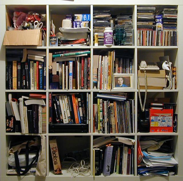 organizar una biblioteca personal