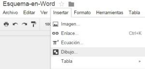 Dibujo en Google Docs