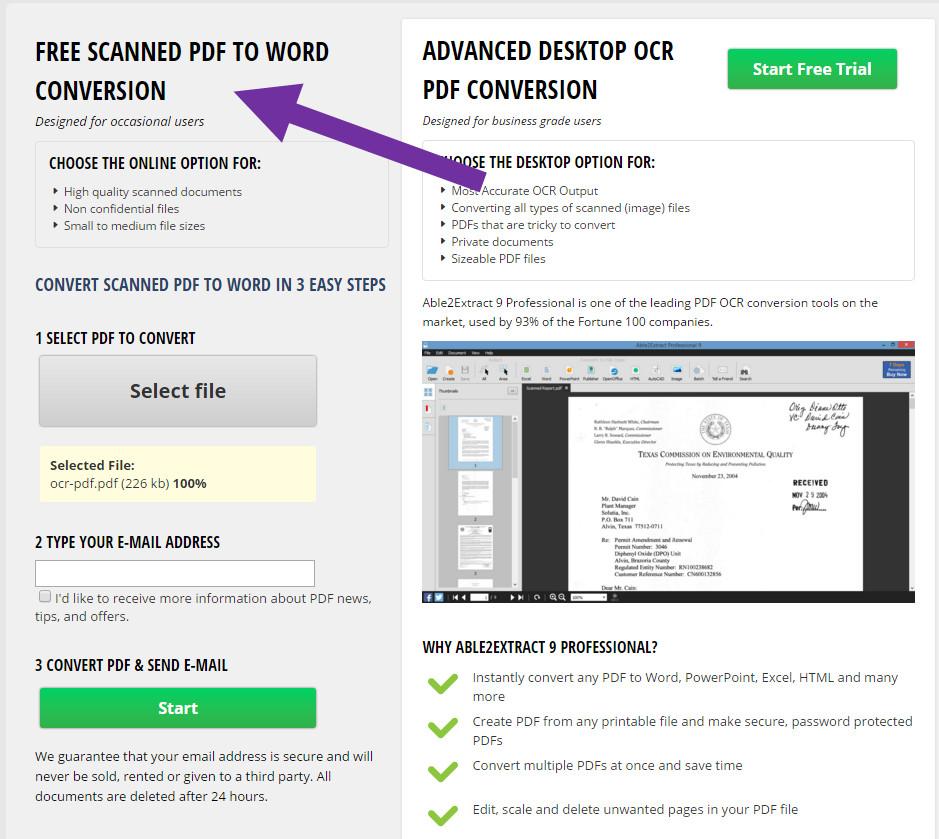 c u00f3mo convertir un documento escaneado en pdf a word