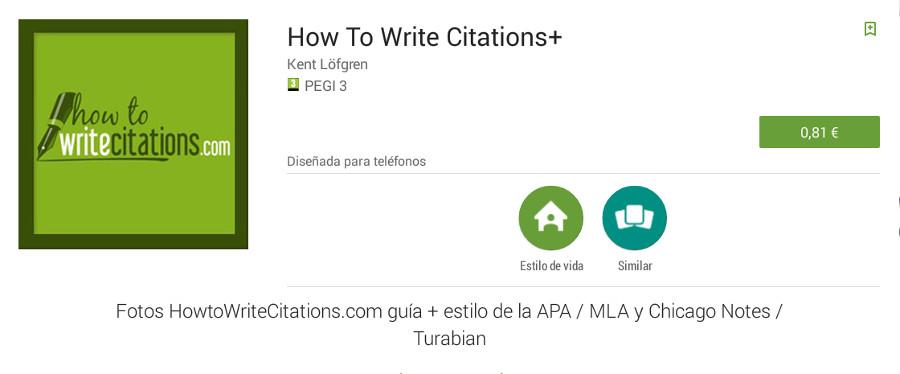 apps para referencias bibliográficas