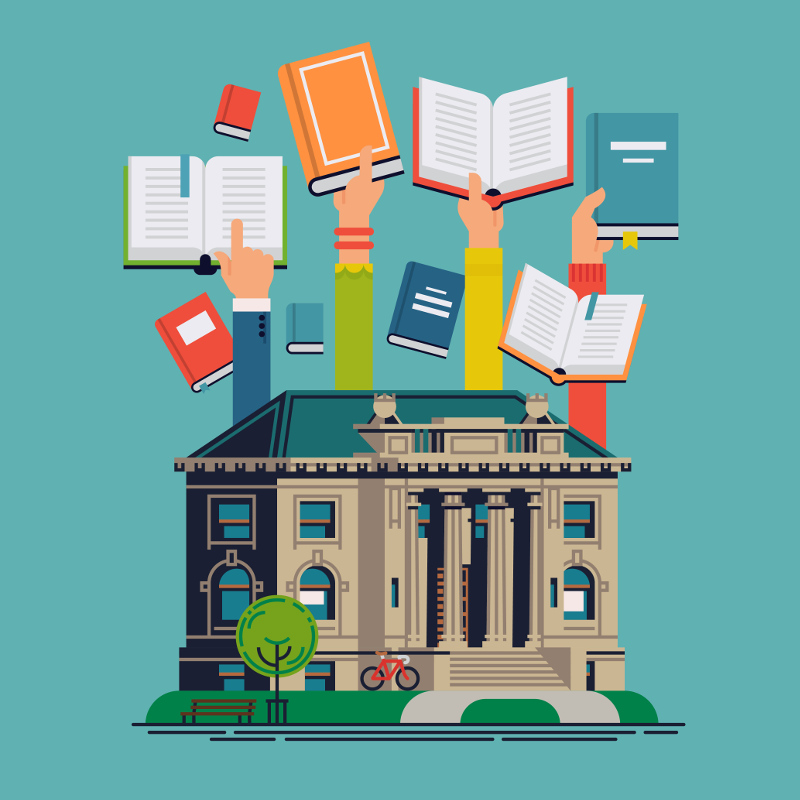 recursos en las bibliotecas