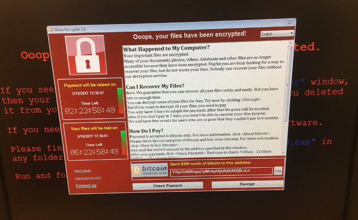 Ransomware Solución. Un ciberataque a escala global