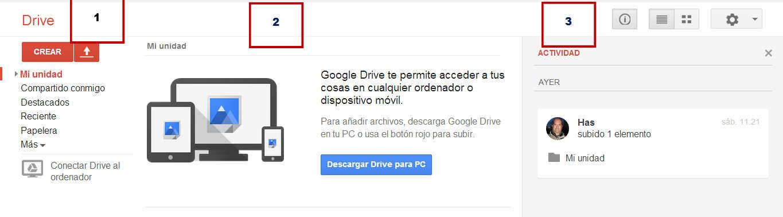 Interior Google Drive