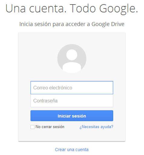 Google Drive funcionamiento