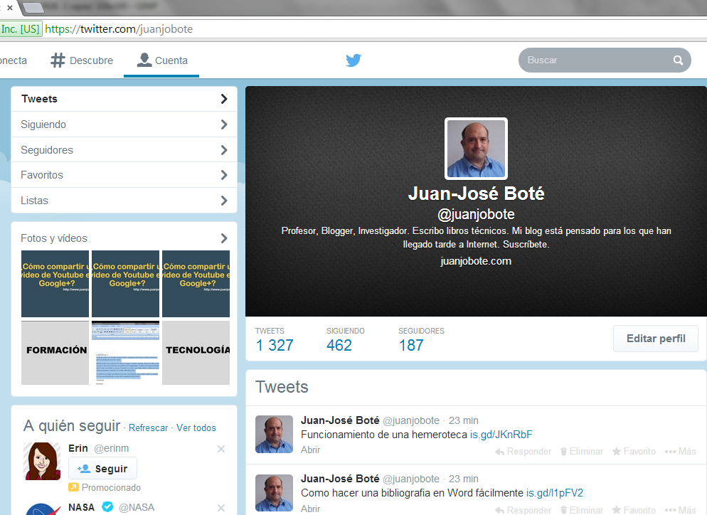 Juanjo Boté twitter