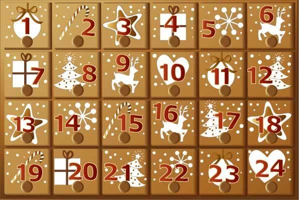 c mo hacer un calendario de navidad en word. Black Bedroom Furniture Sets. Home Design Ideas
