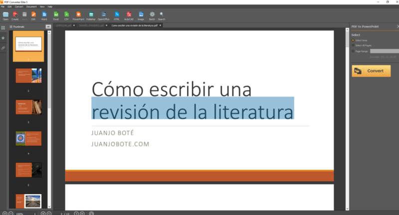 utilizar pdf converter para convertir un word en pdf