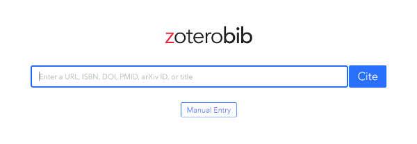 Caja de texto de zoterobib